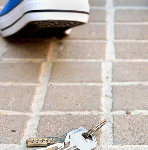 Schlüssel verloren